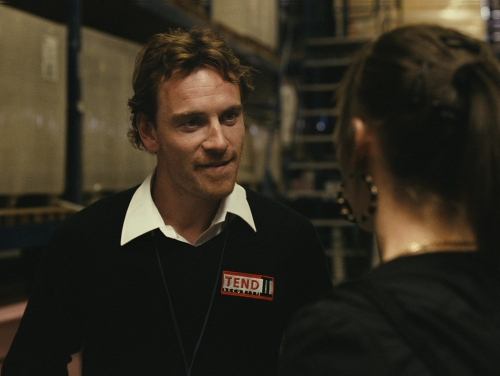 "michael fassbender in ""Fish Tank"""